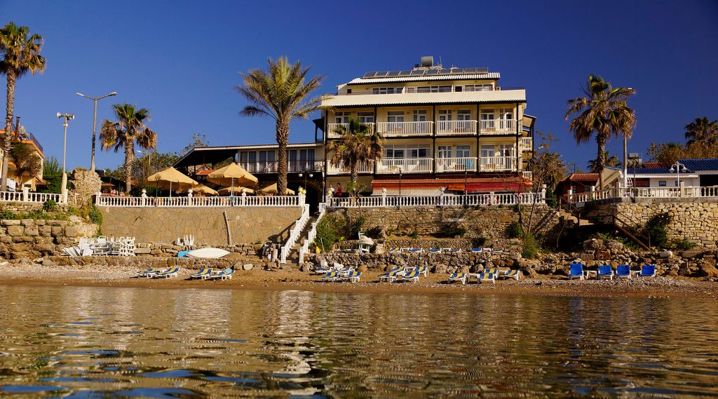 Beach House Hotel From Sea